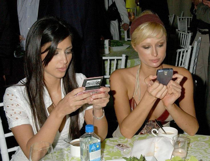 Kim Kardashian & Paris Hilton  2006