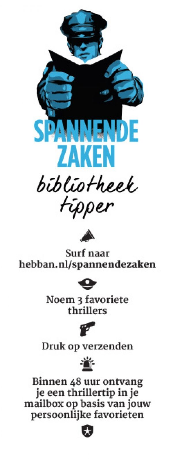 Hebban.nl | Crimezone | Hebban presenteert persoonlijke boekentipper in samenwerking met 160 Openbare Bibliotheken