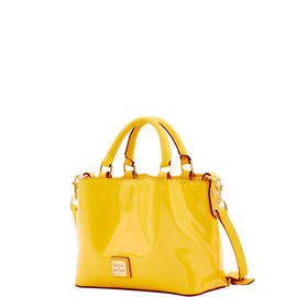 Dooney & Bourke | Patent Mini Barlow | Spring Fashion    Yellow | Trends | Trending | Yellow Handbag | Yellow Accessory | Yellow Accessories | Yellow Purse | Fashion | Style | Bold | Dandelion | Daffodil | Mustard | Lemon | Limone | Banana | Pineapple | Gold | Butterscotch | Honey | Bumblebee | Blonde | Butter | Tuscan Sun
