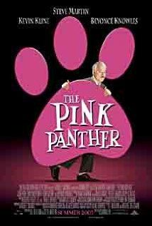 The Pink Panther (2006) Bumbling Inspector Clouseau must  solve the murder of a famous soccer coach and find out who stole the infamous Pink Panther diamond.  Steve Martin, Kevin Kline, Jean Reno