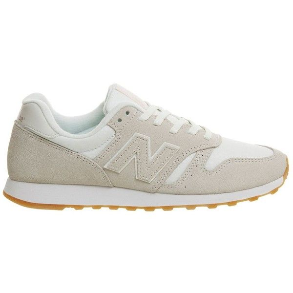 m373 Trainers by New Balance (970.230 IDR) ❤ liked on Polyvore featuring shoes, sneakers, cream, new balance, new balance sneakers, new balance footwear, new balance trainers and new balance shoes