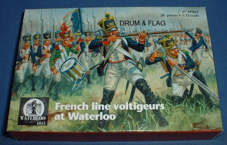 WATERLOO 1815 AP062 FRENCH LINE INFANTRY VOLTIGEURS AT WATERLOO. 1/72 – DRUMANDFLAG