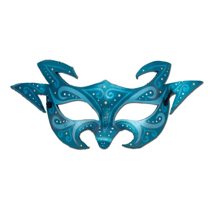 Handmade Argentine Painted Leather Masks