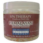 San Francisco Bath Salts Himalayan Moon Dreams 16oz by San Francisco Bath Salts. $14.95. Exotic Meditation Bath Salts. Infused with Lavender and Chamomile. Naturally Sooth & Revitalize Your Body & Mind. 99% Natural Ingredients. Treat Yourself Today!. Relax your mind, body and spirit with these ancient and exotic meditation bath salts from the Himalayas. Infused with Lavender and Chamomile to naturally soothe and revitalize.. Save 50%!