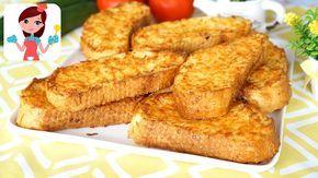 Fırında Yumurtalı Ekmek Tarifi - Kevserin Mutfağı Yemek Tarifleri