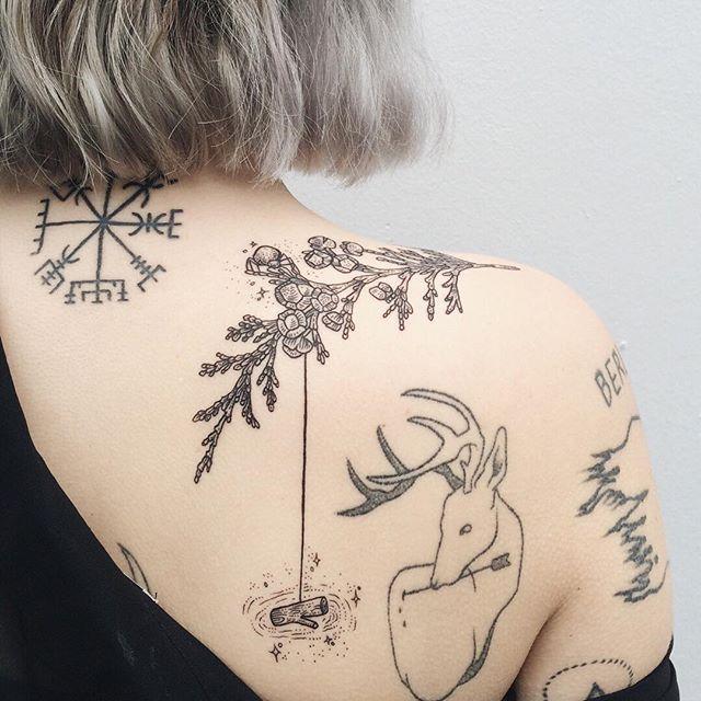 Pony Reinhardt Tattoo @freeorgy Sparkle spider sp...Instagram photo | Websta (Webstagram)