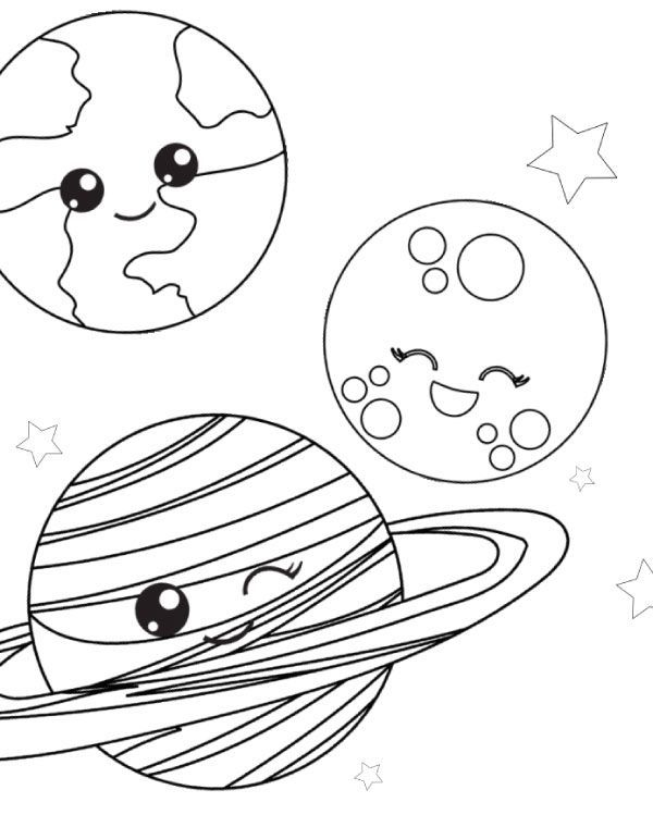 Free Printable Space Coloring Pages For Kids Space