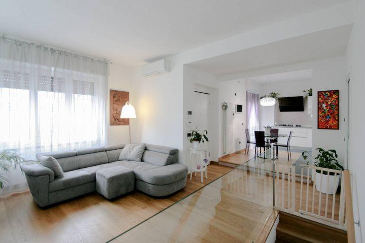 L'appartamento bianco che stavi cercando. #case #totalwhite #interiordesign https://www.homify.it/librodelleidee/261139/l-appartamento-bianco-che-stavi-cercando