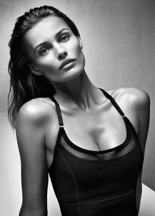 Lithuanian super model Edita Vilkeviciute