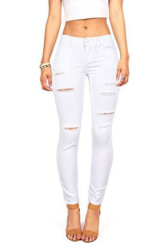 New Trending Denim: Wax Womens Juniors Mid-Rise Skinny Jegging Jeans w Distressing (13, White). Wax Women's Juniors Mid-Rise Skinny Jegging Jeans w Distressing (13, White)   Special Offer: $32.98      222 Reviews Mid-rise skinny jeans with a very stretchy jegging fit. Light distressed cuts down the front side. Traditional 5-pocket construction and zip fly closure.Mid-rise skinny...