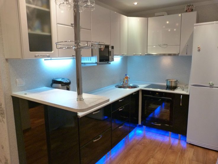 Идеи дизайна кухни в хрущевке (100+ фото) | Дизайн кухни, интерьер, ремонт, фото