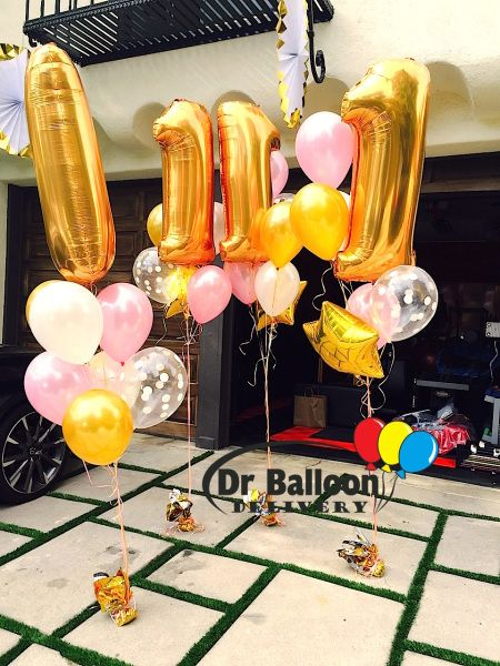 1000 ideas about birthday balloon delivery on pinterest for Balloon decoration los angeles