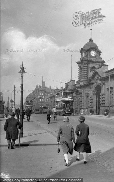 Nottingham, 1927, from Francis Frith