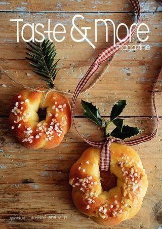 Taste&More Magazine novembre - dicembre 2015 n° 17  Free food web Magazine. Rivista di cucina ed arte culinaria, deliziose ricette da ogni parte d'Italia e dal mondo