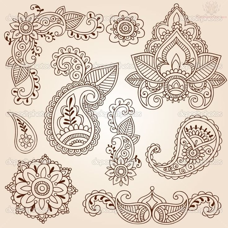 Paisley Colorful Tattoo Designs | Paisley Pattern Tattoos Pictures and Images : Page 11