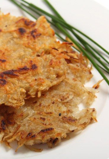 Kartoffel-Lauch-Reibekuchen - Kartoffelpuffer & Bratlinge: leckere Rezeptideen