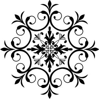 Several awesome round stencil patterns. EUROPEAN PAINTER - faux painting, murals, furniture decorating.                                                                                                                                                                                 Plus
