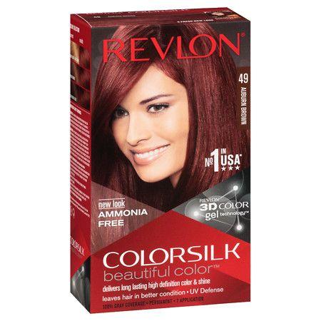 #prescriptions #pharmacy Revlon Colorsilk Beautiful Color 49 Auburn Brown - 1 ea: Gives you natural-looking, even… #photo #health #cosmetics