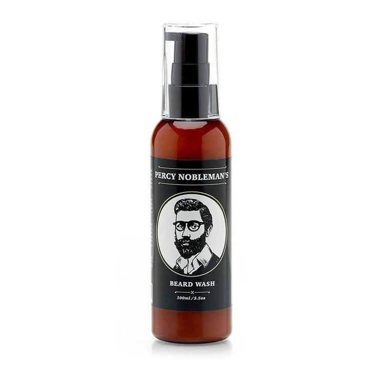 Szampon do brody Percy Nobleman #beard #beardcare #BeardManPL