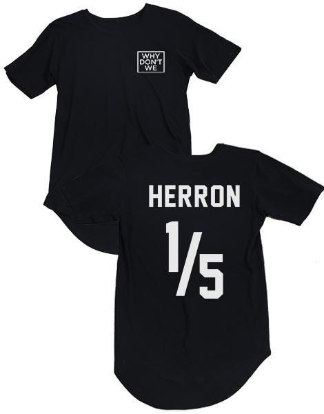 7584c442828109 Why Don t We Herron Jersey T-Shirt in 2019