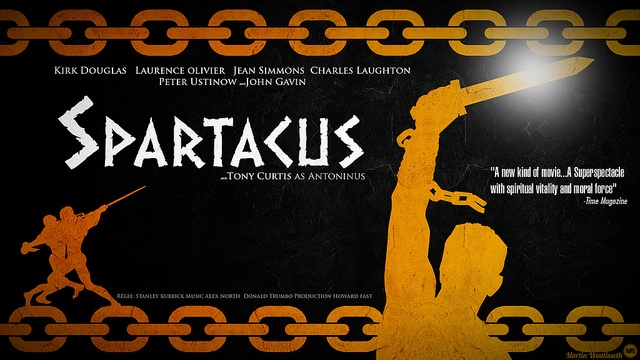 spartacus by Martin Woutisseth, via Flickr