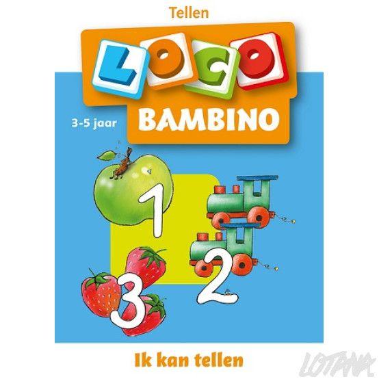 Bambino Loco boekje - Ik kan tellen (3-5 jaar)