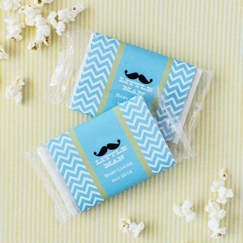 baby shower popcorn bags mustache baby showersbaby shower boysbaby shower
