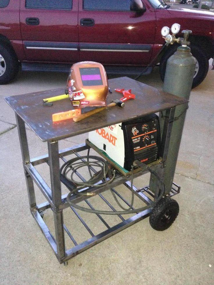 welding carttable combo