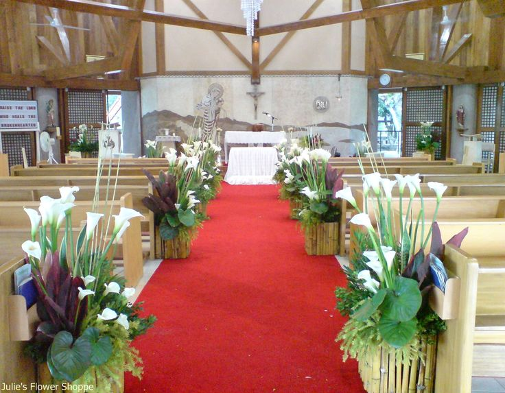28 best images about church weddings decorations on for Altar wedding decoration
