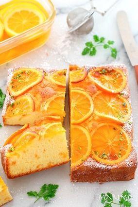 【お菓子レシピ】爽やか!オレンジケーキ★しっとりふわふわレシピ公開★|レシピブログ