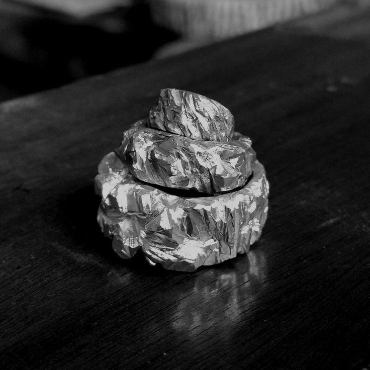 Stacks On  Brass & sterling silver jewellery by Stephanie Rachael Jewellery