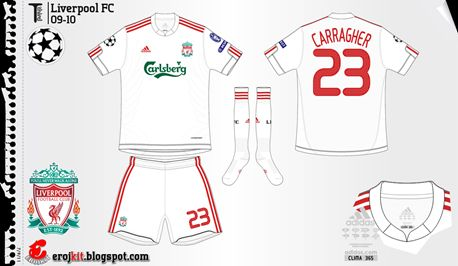 Liverpool | away jersey | 2009-10