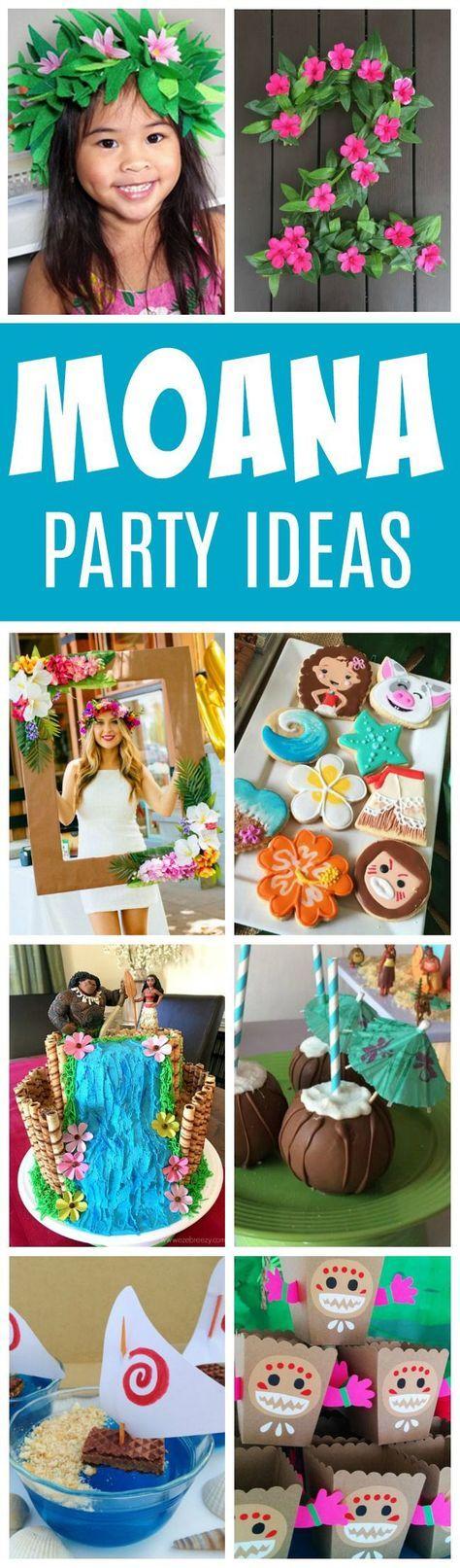 27 Disney Moana Birthday Party Ideas   Pretty My Party