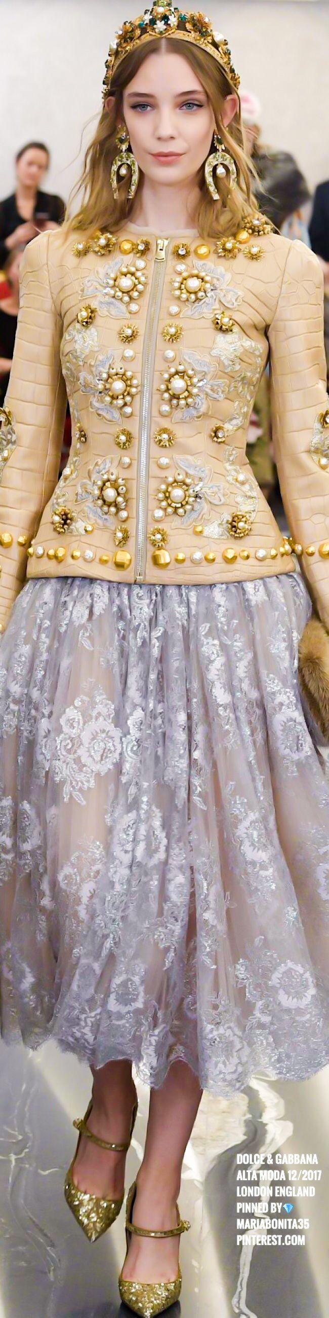 Dolce & Gabbana Haute Couture London 12/2017