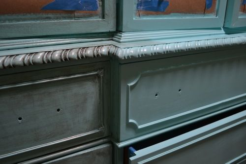 Painting/Glazing Old Furniture