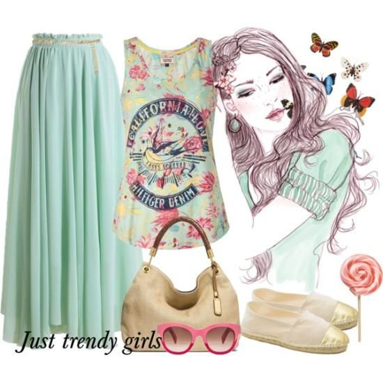colorful outfits for teens,Stylish teens summer outfits http://www.justtrendygirls.com/stylish-teens-summer-outfits/
