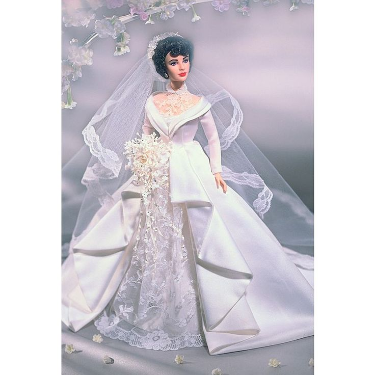 Elizabeth Taylor en El padre de la novia Doll | 26836 | Firma Barbie   – Research: Weddings Barbie