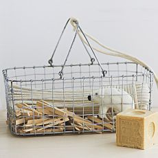 Wire Mesh Storage - Laundry Caddy from West Elm