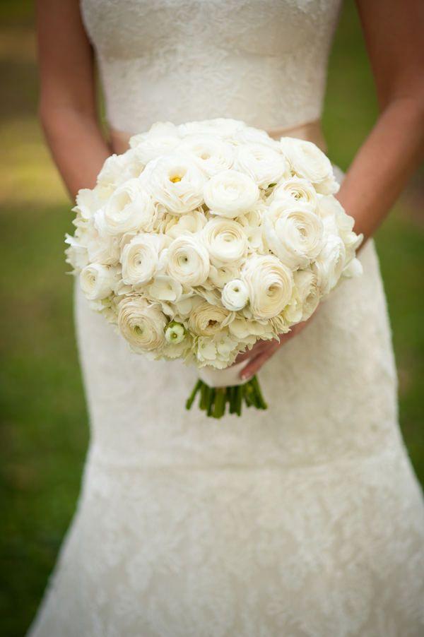 cream bouquet.