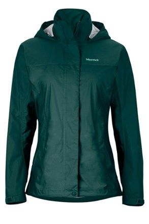 Marmot Women's PreCip Rain Jacket Waterfall/Deep Lake XXL | Teal ...