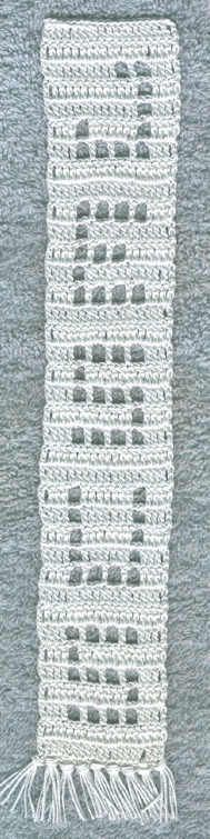 Crochet Religious Bookmark Patterns - Jesus Bookmark Pattern