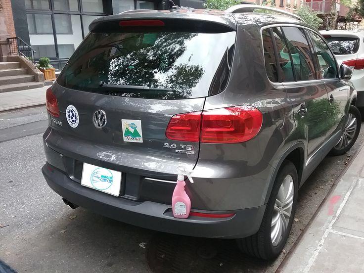 Cliente Magic Clean Car, Los Vidrios y carroceria del  #Volkswagen brillan espectacular #Lavarsinagua - Deja Tu Auto Limpio, brillante y protegido sin utilizar una Gota de Agua