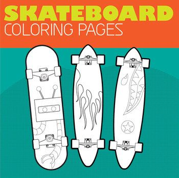 Skateboard Coloring Pages Coloring Pages Skateboard Party