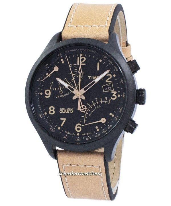 Timex Intelligent Indiglo Fly-Back Chronograph Quartz T2N700  Men s  Watch cfa8799d7e