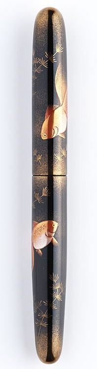 Goldfish fountain pen by Nakaya Fountain Pen, Japan. A beautiful work of art, which i wish I could afford.