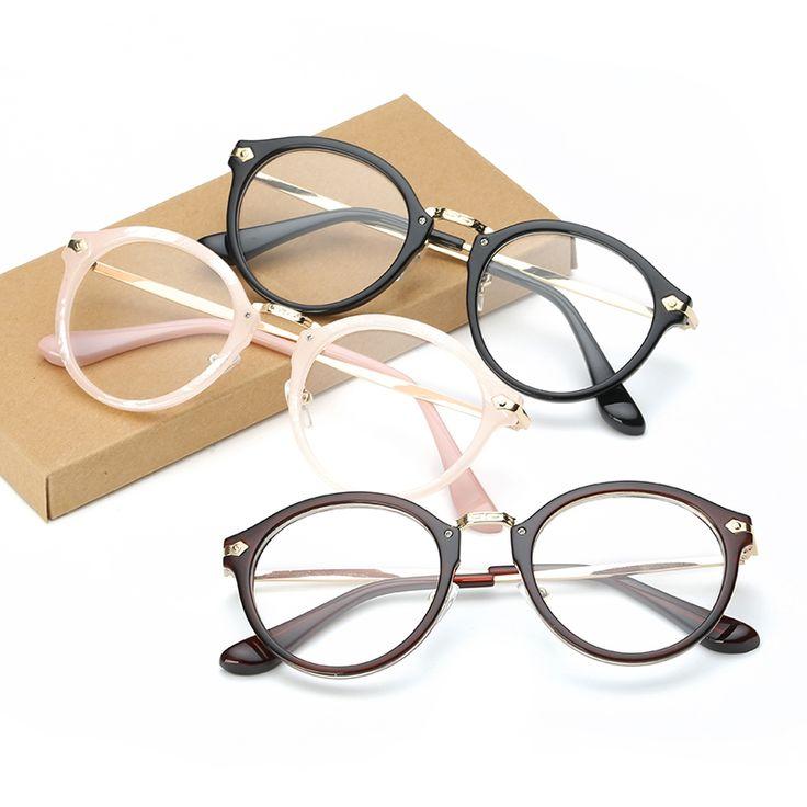 Mujeres de la manera Gafas De Montura de las Gafas de Diseñador de la Marca vidrios Ópticos de Fricción Clásico Hombres Marco de Las Lentes de prescripción Marco F15019