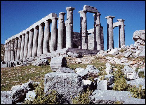 Greece, Temple of Apollo Epicurius at Bassae