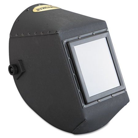 Jackson Safety* Huntsman Fiber Shell Welding Helmet, 4 1/4 inch x 5 1/4 inch, Black