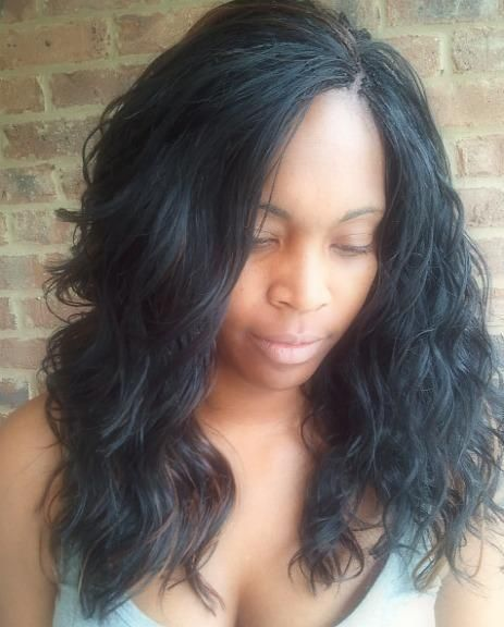 long invisible micro braids