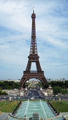 Eiffel Tower, Paris, France - scene in the background in Thunderball and promiently depicted in A View To A Kill